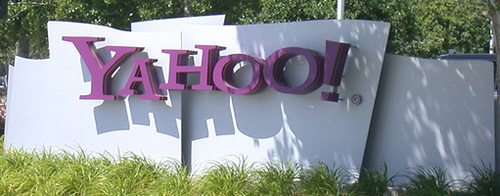 Yahoo! sign